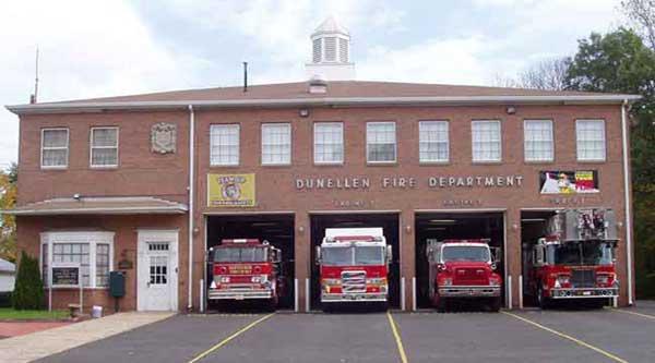 Actividades en la estación de bomberos