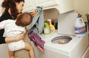 Efectos de los productos de limpieza del hogar que tienen cloro