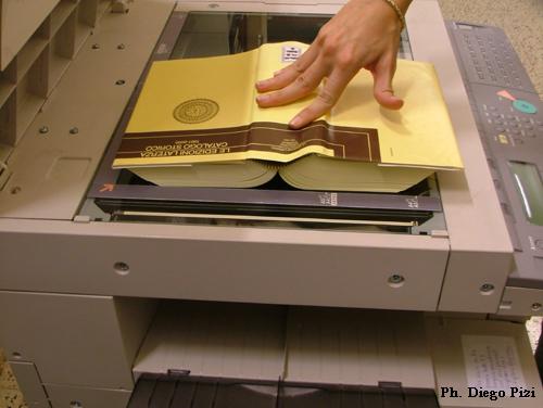 ¿Cómo funciona una copiadora?