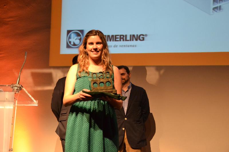 Kömmerling gana el premio NAN a la mejor 'Carpintería de madera, metálica, PVC y vidrio'