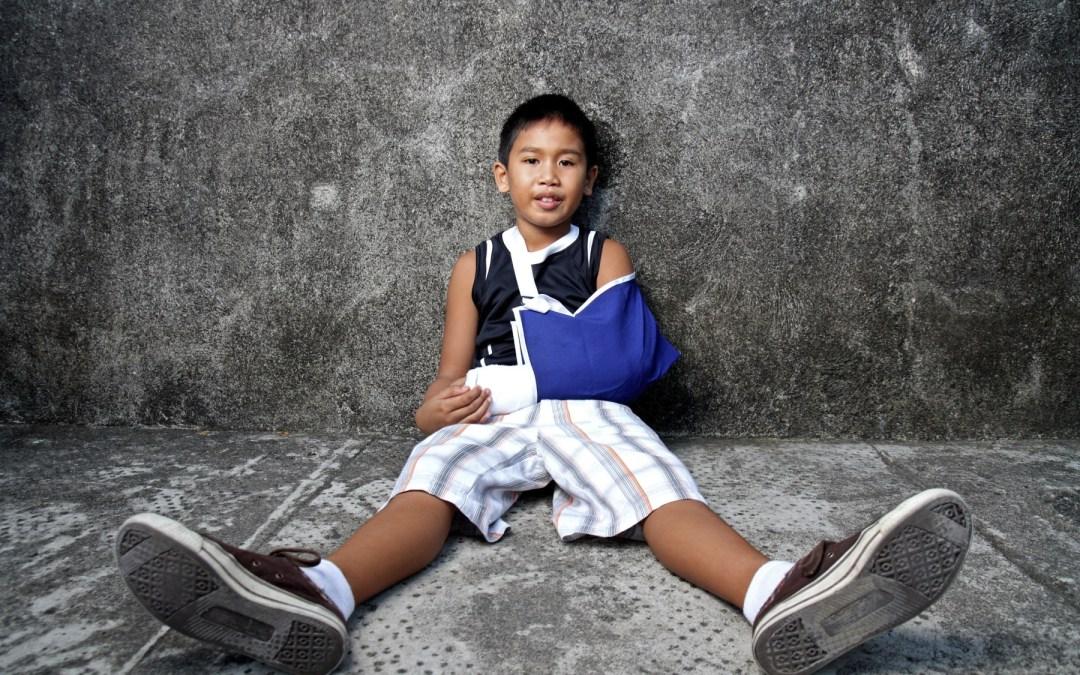 Tratamiento para una fractura de brazo