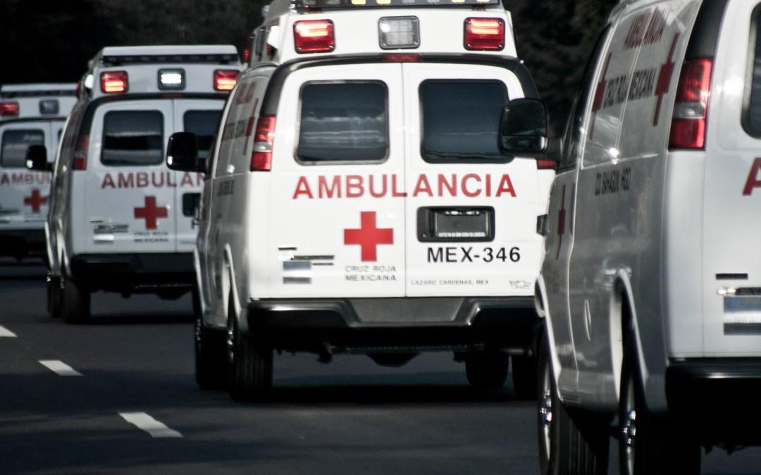 Que hacer cuando al ver una ambulancia