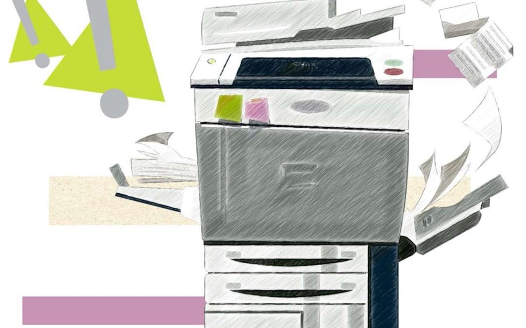 Como sacar fotocopias