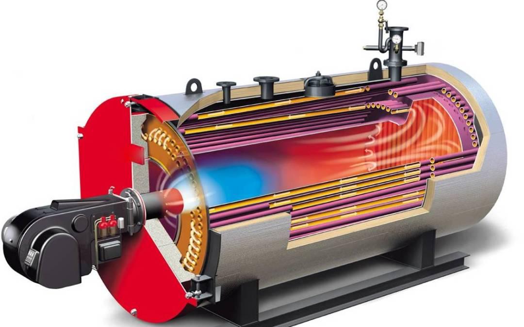 Como funcionan los calderos industriales