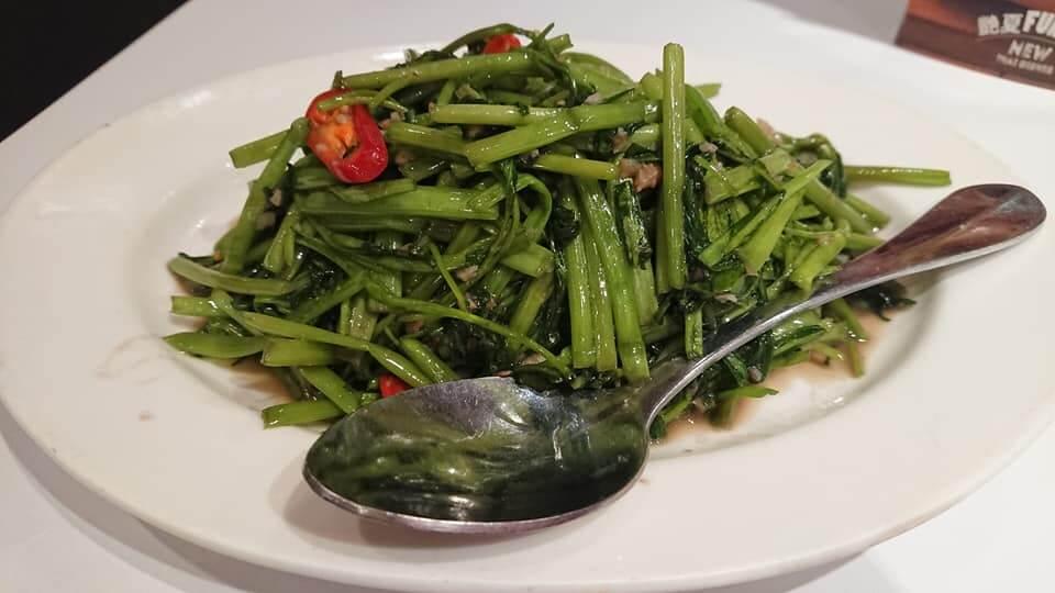 瓦城泰國料理-蝦醬空心菜