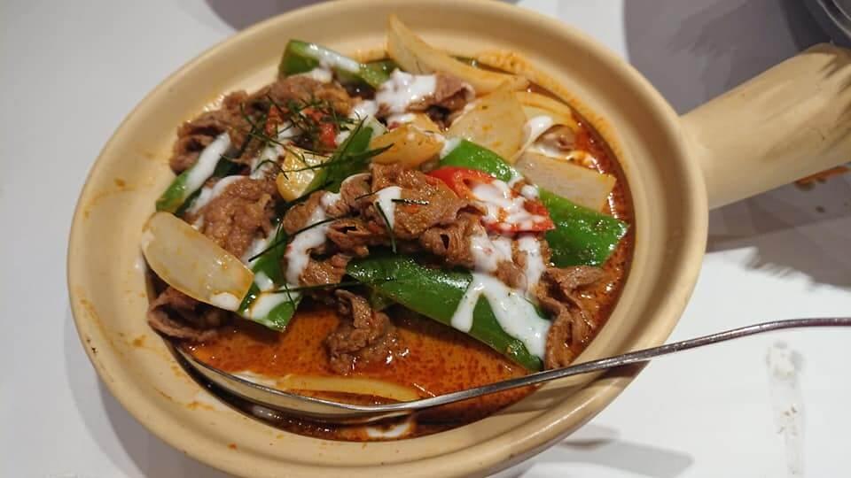 瓦城泰國料理-馬沙蔓咖哩牛肉