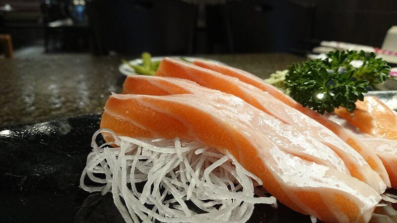 寶船鮭魚生魚片