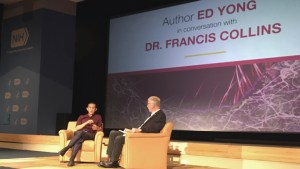 Ed Yong and Francis Collins