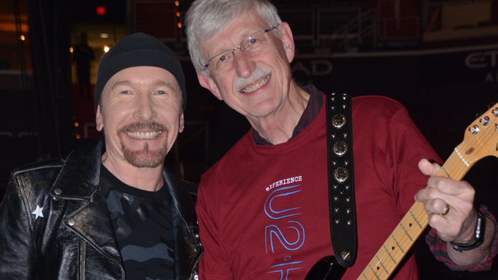 The Edge from U2 and Francis Collins