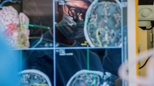 Chang while performing neurosurgery