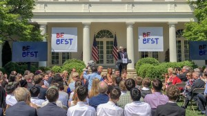The NIH Director speaks at Be Best's First Anniversary