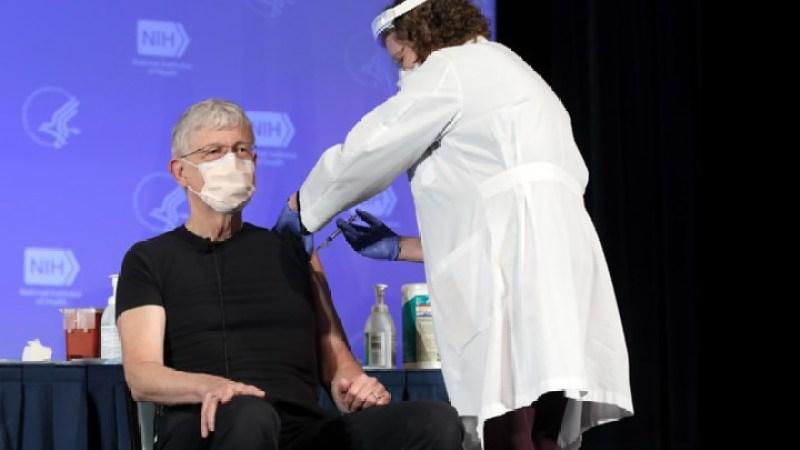 Francis Collins Vaccination
