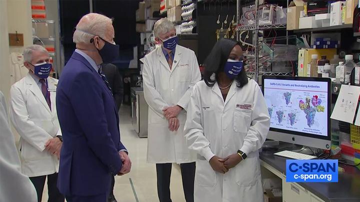 POTUS Visit to NIH's VRC