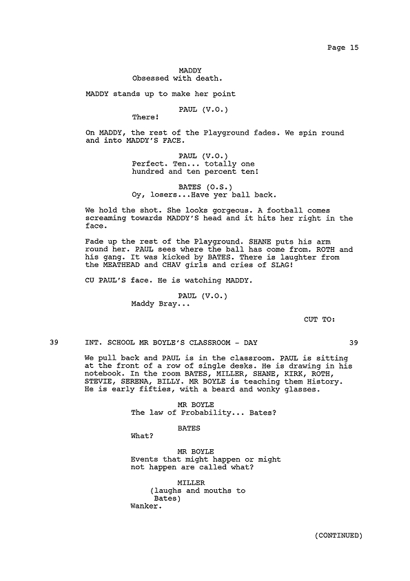Script Extract - Page 15