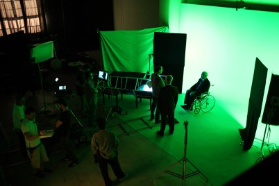 Green Screen - Photo by Maximilian Ho