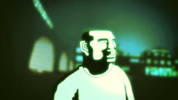 Still from short film BOOM IS LIFE by Jesse Collett