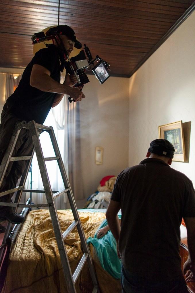 Shooting room scene