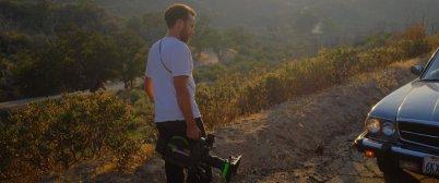 DP Daryl Hefti contemplating the next shot