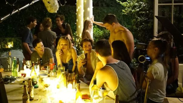 Party scenes