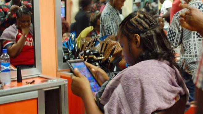 Salons de beauté nigérians