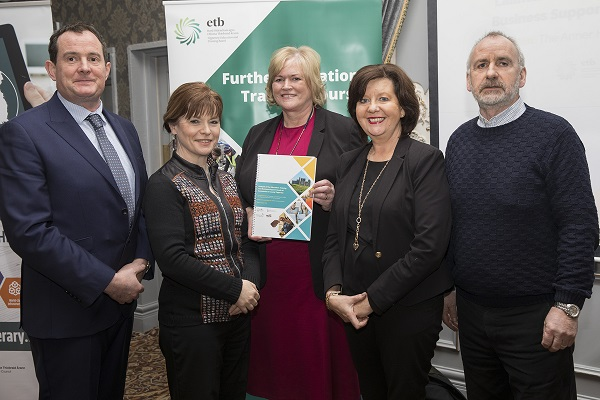 Michael Murray, CEO, NTLP, Sinead Carr, Director of Services, Tipperary Co Co, Eileen Condon Director, Education & Training Board, Rita Guinan, Head of Enterprise, TCC and John Kennedy Limerick Institute of Technology.