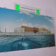 With a 350-seat auditorium, the Conservatory will be prominent on the malecon