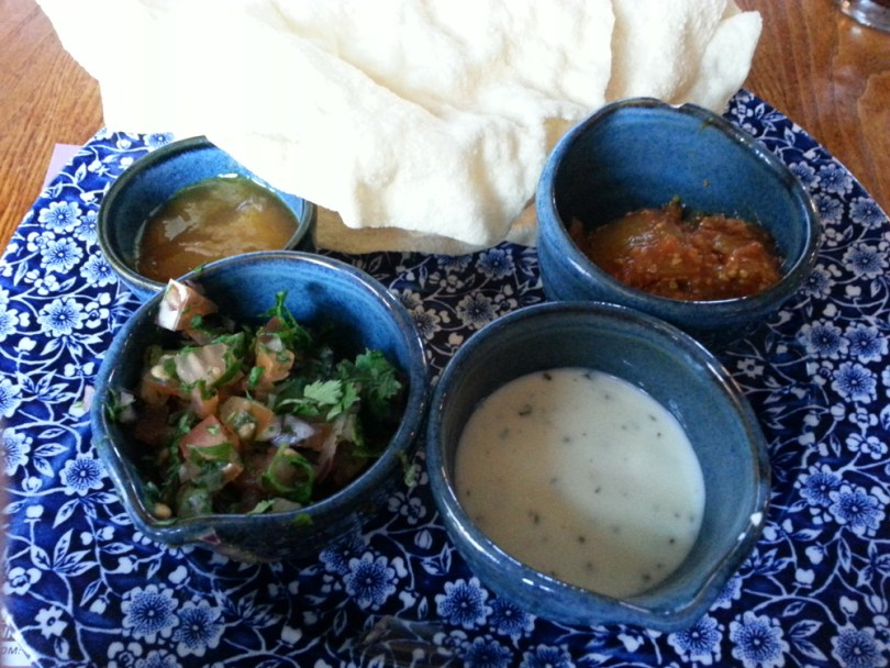 Poppadums and Dips
