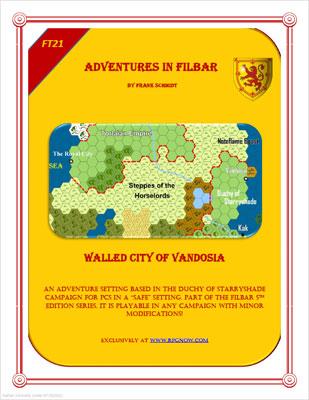 FT - Walled City of Vandosia