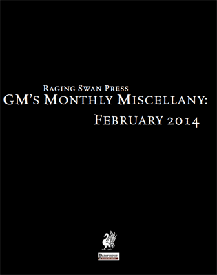 GM's Monthly Miscellany: February 2014