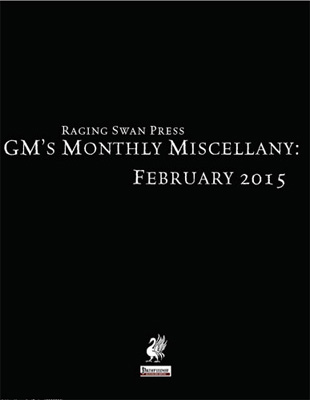 GM's Monthly Miscellany: February 2015