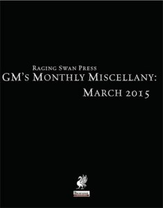 GM's Monthly Miscellany: March 2015