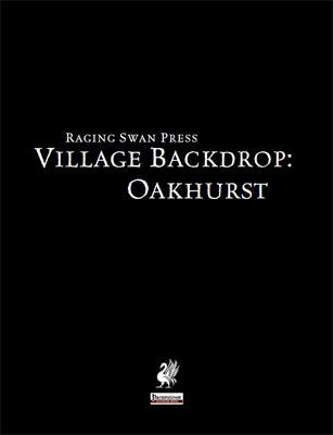 Village Backdrop: Oakhurst