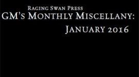 GM's Monthly Miscellany: January 2016