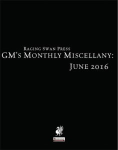 GM's Monthly Miscellany: June 2016
