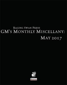 GM's Monthly Miscellany: May 2017