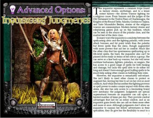 Advanced Options: Inquisitors' Judgements
