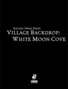 Village Backdrop: White Moon Cove