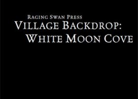 Village Backdrop: White Moon Cove