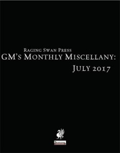 GM's Monthly Miscellany: July 2017