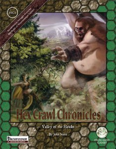 Hex Crawl Chronicles - Valley of the Hawks - Pathfinder Edition