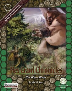Hex Crawl Chronicles 2 - The Winter Woods - Pathfinder Edition