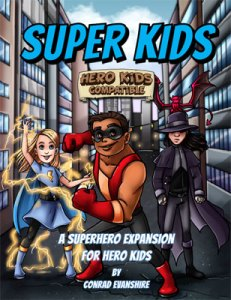 Super Kids - A Superhero Expansion for Hero Kids