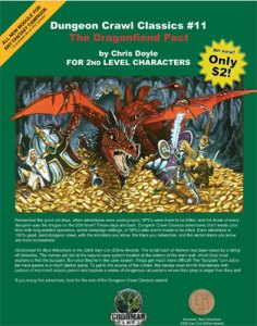 Dungeon Crawl Classics #11: The Dragonfiend Pact