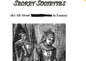 Secret Societies aka All About Secret Societies in Fantasy