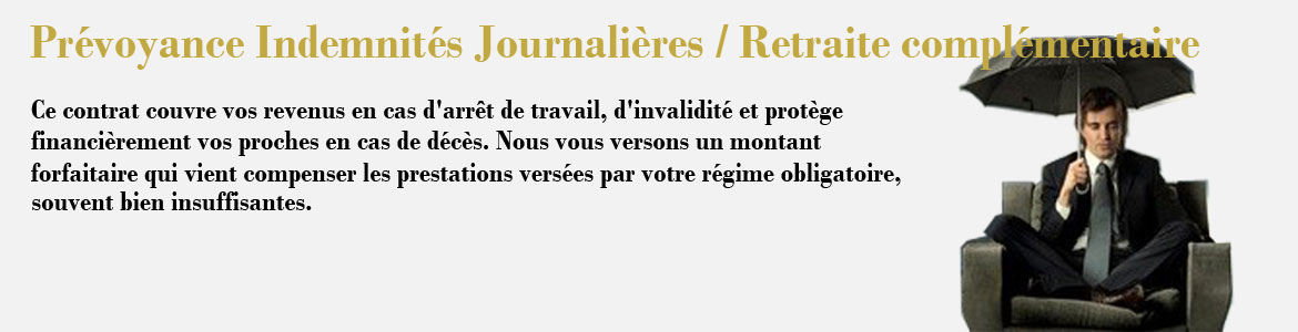 Simulateur prevoyance indemnite journaliere