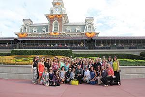Executives and marketing partners recently visited Magic Kingdom in Orlando, Florida.