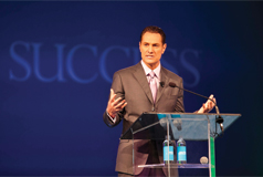 Darren Hardy, Publisher and Founding Editor of SUCCESS magazine, serves as master of ceremonies.