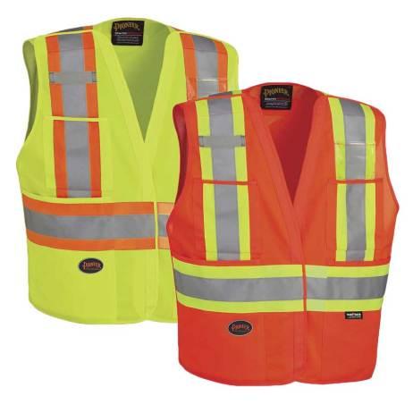Hi-Viz Safety Tear Away Vest