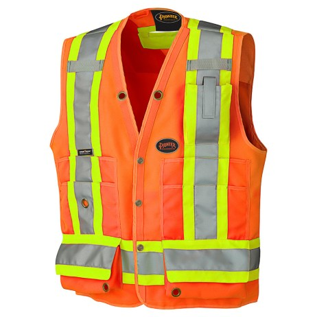 orange hi vis surveyor nest