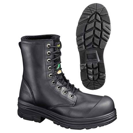 """leather 8"""" work boot"""